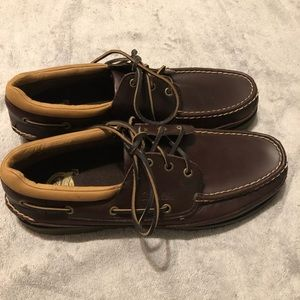 New in Box Cabela's Brown Boat Shoe